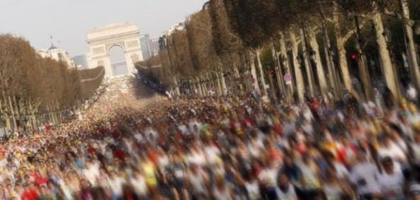 40000 coureurs au départ, ce dimanche matin, à partir de 8h40 sur les Champs-Elysées (Photo DR)